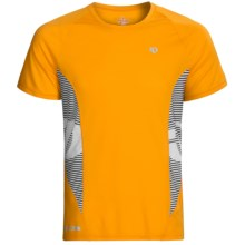 Pearl Izumi Fly In-R-Cool® Shirt - Short Sleeve (For Men) in Safety Orange - Closeouts