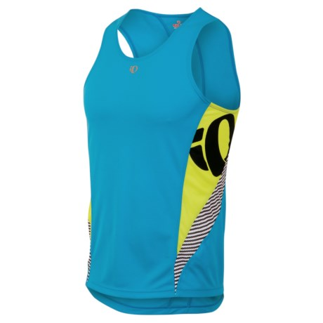 Pearl Izumi Fly In-R-Cool® Singlet Top (For Men) in Electric Blue