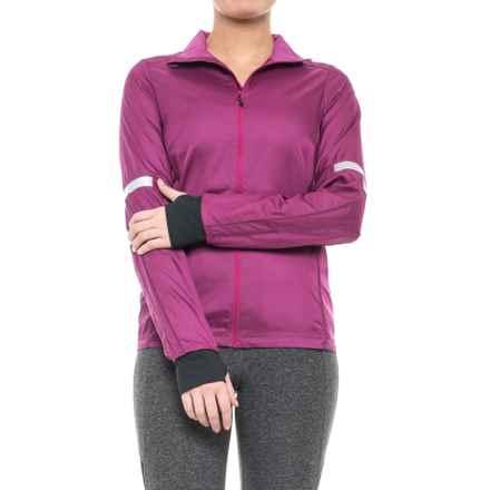Pearl Izumi Fly Jacket - Waterproof (For Women) in Purple Wine - Closeouts