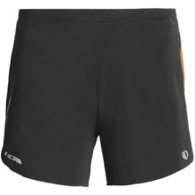 Pearl Izumi Fly Shorts - Built-in Brief (For Men) in Black/Safety Orange - Closeouts