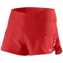 Pearl Izumi Fly Split Running Shorts (For Men) in True Red - Closeouts