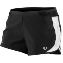 Pearl Izumi Fly Split Running Shorts (For Women) in Black - Closeouts