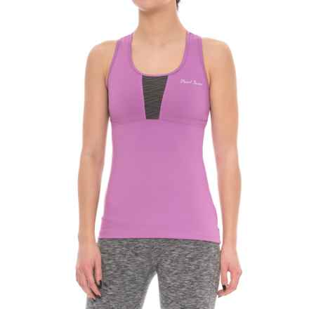 Pearl Izumi Fly Sport Tank Top - Built-In Bra (For Women) in Iris Orchid/Shadow Grey - Closeouts