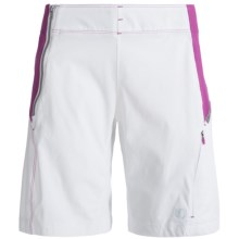 Pearl Izumi Forest Shorts (For Women) in White/Orchid - Closeouts