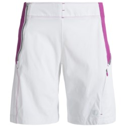 Pearl Izumi Forest Shorts (For Women) in White/Orchid