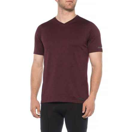 Pearl Izumi High-Performance T-Shirt - Short Sleeve (For Men) in Port - Closeouts