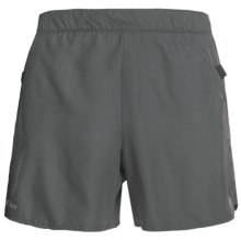 Pearl Izumi Infinity Elite LD Shorts - Built-In Brief (For Women) in Shadow Grey/Pink Punch - Closeouts