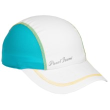 Pearl Izumi Infinity In-R-Cool® Cap (For Women) in White/Scuba Blue - Closeouts
