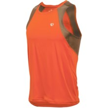 Pearl Izumi Infinity In-R-Cool® Singlet Top (For Men) in Rust/Silt - Closeouts