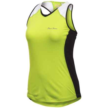 Pearl Izumi Infinity In-R-Cool® Singlet Top (For Women) in Lime/Black - Closeouts