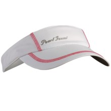 Pearl Izumi Infinity In-R-Cool® Visor (For Women) in White /Paradise Pink - Closeouts