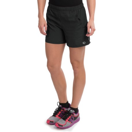 Pearl Izumi Infinity LD Shorts - Built-In Briefs (For Women) in Black/Black