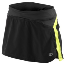 Pearl Izumi Infinity Run Skort (For Women) in Black/Lime - Closeouts