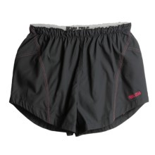 Pearl Izumi Infinity Shorts (For Women) in Black/Real Passion - Closeouts