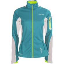 Pearl Izumi Infinity Soft Shell Jacket (For Women) in Peacock/White - Closeouts