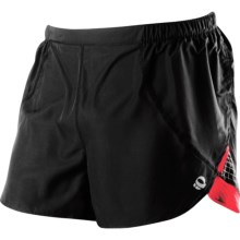 Pearl Izumi Infinity Split Running Shorts (For Men) in Black/True Red - Closeouts