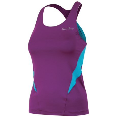 Pearl Izumi Infinity Sport Tank Top - UPF 50+, Built-In Bra (For Women) in Orchid/Scuba Blue