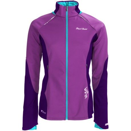 Pearl Izumi Infinity Wind Blocking Jacket (For Women) in Orchid/Blackberry