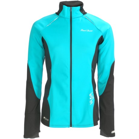 Pearl Izumi Infinity Wind Blocking Jacket (For Women) in Scuba Blue/Black