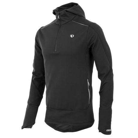 Pearl Izumi Infinity Wind Blocking Sweatshirt - Zip Neck (For Men) in Black