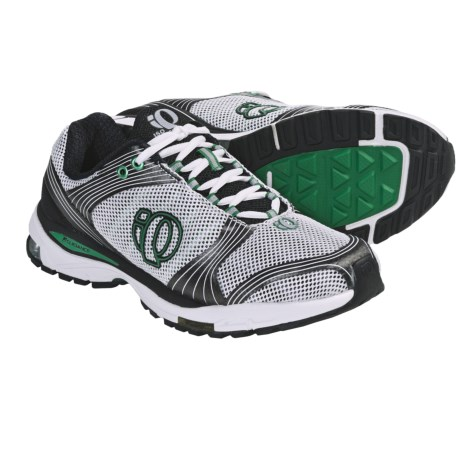 Pearl Izumi isoShift Running Shoes (For Men) in White/Green