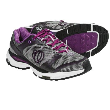 Pearl Izumi isoShift Running Shoes (For Women) in Black/Orchid