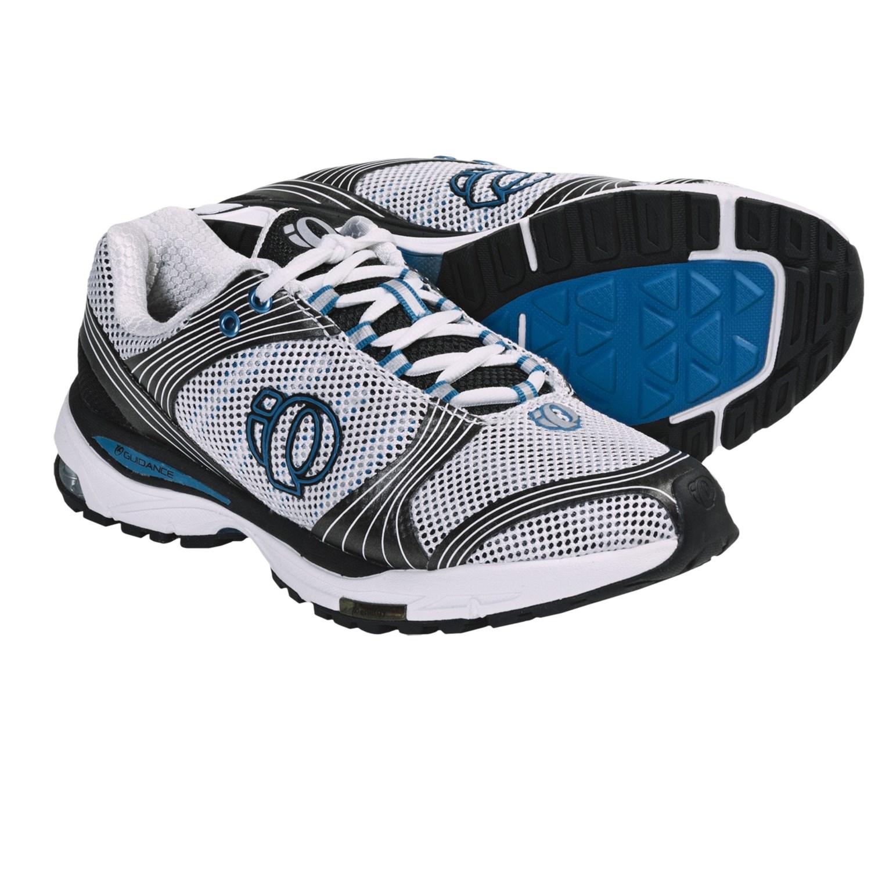 Pearl Izumi isoShift Running Shoes (For Women) in White/Blue Jewel