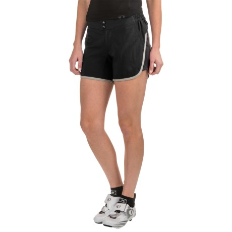 Pearl Izumi Journey Bike Shorts - Removable Liner (For Women) in Black