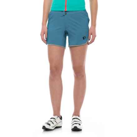 Pearl Izumi Journey Bike Shorts - Removable Liner (For Women) in Blue Steel - Closeouts