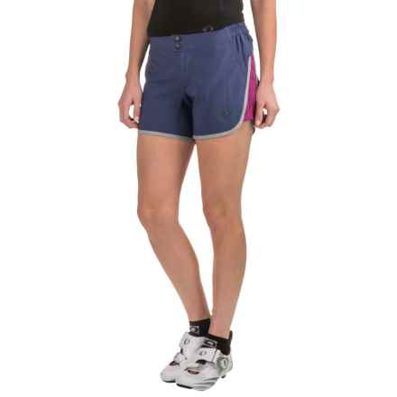 Pearl Izumi Journey Bike Shorts - Removable Liner (For Women) in Deep Indigo - Closeouts