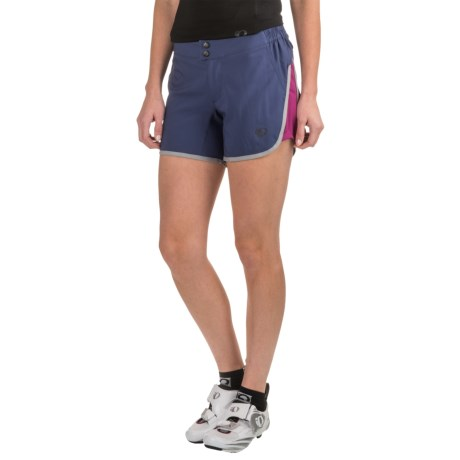 Pearl Izumi Journey Bike Shorts - Removable Liner (For Women) in Deep Indigo