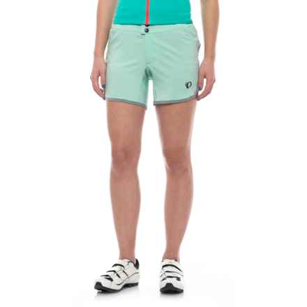 Pearl Izumi Journey Bike Shorts - Removable Liner (For Women) in Mist Green - Closeouts