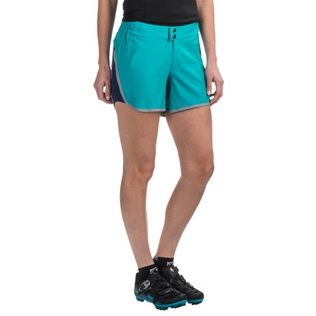 Pearl Izumi Journey Bike Shorts - Removable Liner (For Women) in Viridian Green