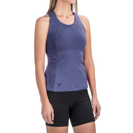 Pearl Izumi Journey Cycling Tank Top - Racerback (For Women) in Deep Indigo