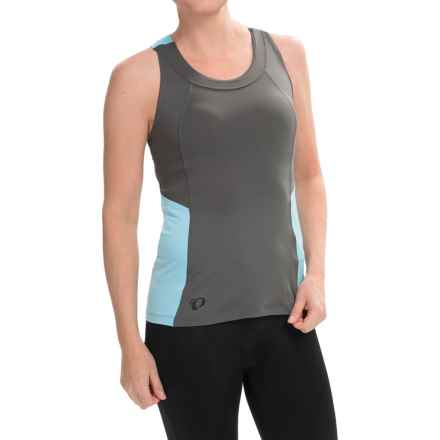 Pearl Izumi Journey Cycling Tank Top - Racerback (For Women) in Shadow Grey - Closeouts