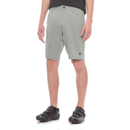Pearl Izumi Journey Mountain Bike Shorts (For Men) in Monument Grey - Closeouts