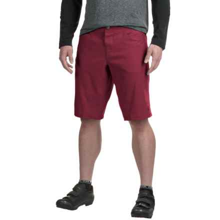 Pearl Izumi Journey Mountain Bike Shorts (For Men) in Tibetan Red - Closeouts