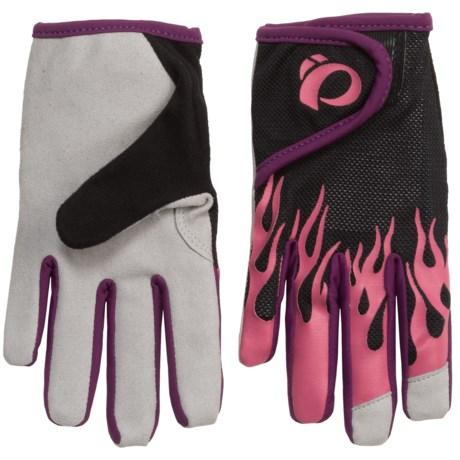 Pearl Izumi Jr. Mountain Bike Gloves (For Big Kids) in Honeysuckle