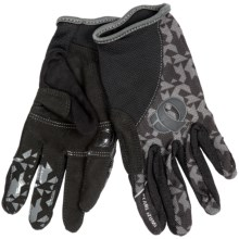 Pearl Izumi Jr. Print Mountain Bike Gloves (For Big Kids) in Black - Closeouts