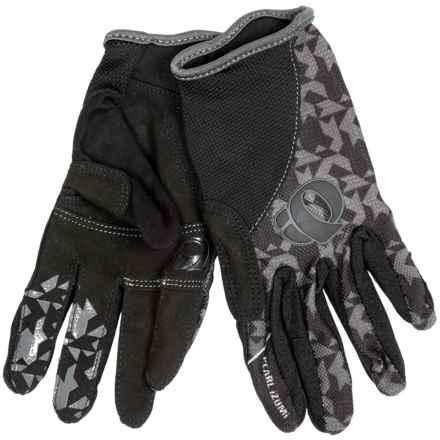 Pearl Izumi Jr. Print Mountain Bike Gloves (For Big Kids) in Black - Closeouts