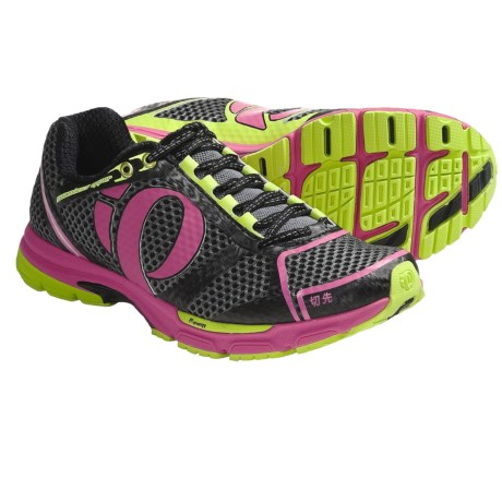Pearl Izumi Kissaki Running Shoes (For Women) in Black/Electric Pink