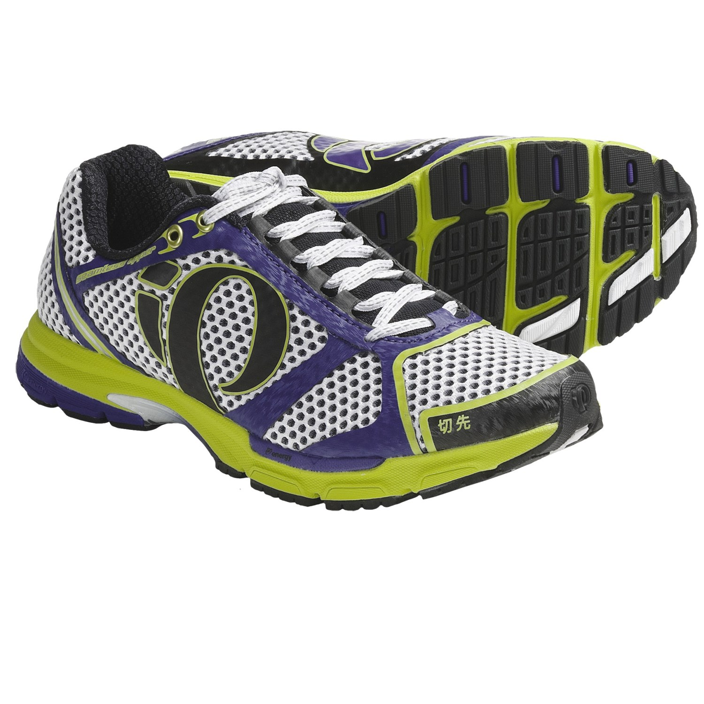 Pearl Izumi Kissaki Running Shoes (For Women) in Lime/Dahlia
