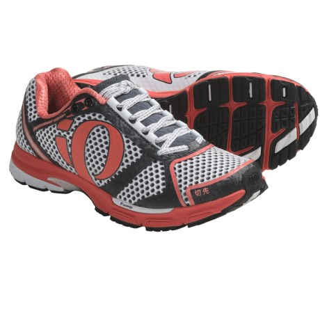 Pearl Izumi Kissaki Running Shoes (For Women) in White/Coral
