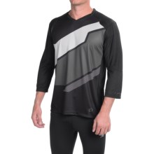 Pearl Izumi Launch Cycling Jersey - 3/4 Sleeve (For Men) in Black - Closeouts