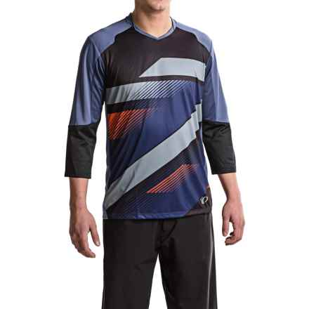 Pearl Izumi Launch Cycling Jersey - 3/4 Sleeve (For Men) in Deep Indigo - Closeouts