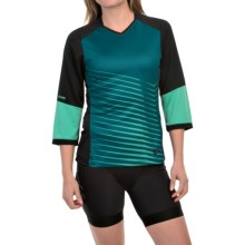 Pearl Izumi Launch Cycling Jersey - 3/4 Sleeve (For Women) in Gumdrop - Closeouts