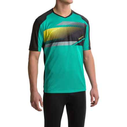 Pearl Izumi Launch Cycling Jersey - Short Sleeve (For Men) in Viridian Green - Closeouts
