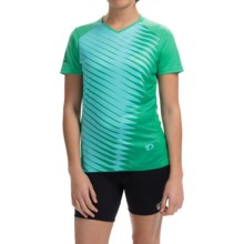 Pearl Izumi Launch Cycling Jersey - Short Sleeve (For Women) in Gumdrop - Closeouts