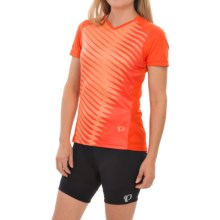 Pearl Izumi Launch Cycling Jersey - Short Sleeve (For Women) in Mandarin Red - Closeouts