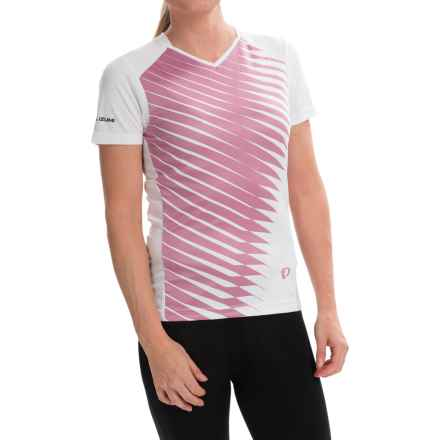 Pearl Izumi Launch Cycling Jersey - Short Sleeve (For Women) in White - Closeouts
